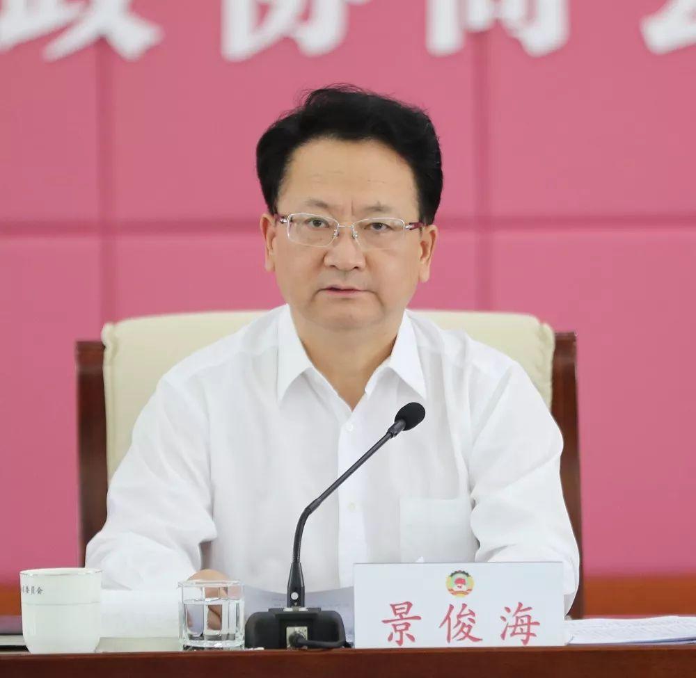 省委副书记、省长景俊海参加会议并讲话